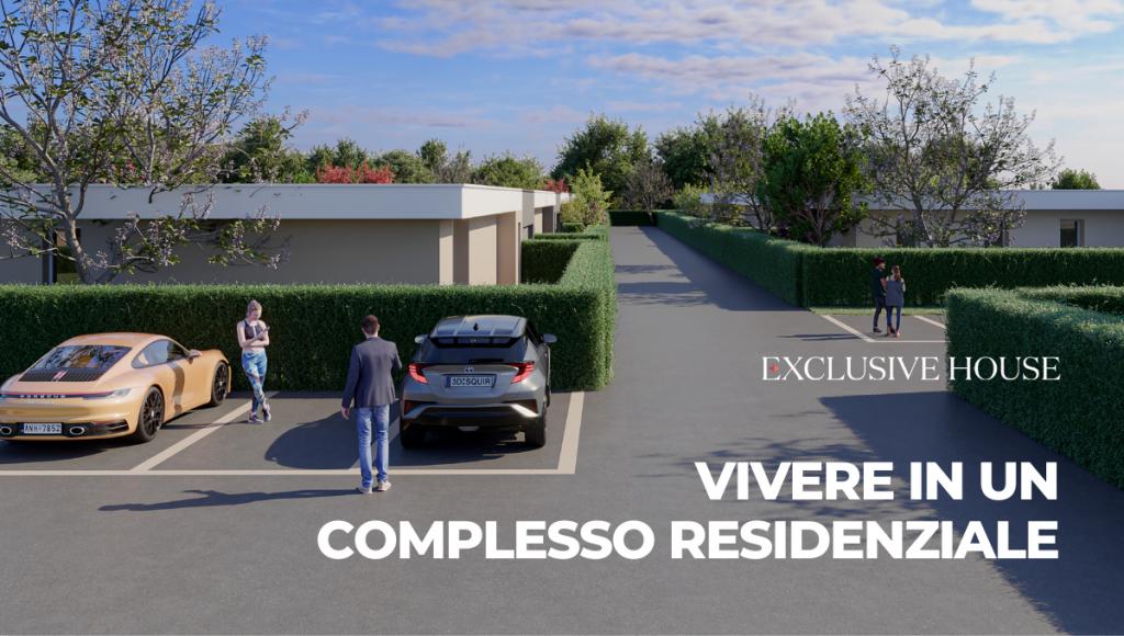 Vivere in un complesso residenziale: tutti i servizi in una villa indipendente
